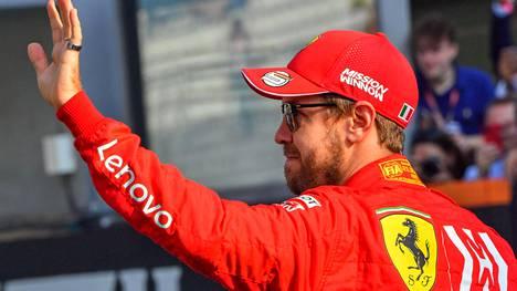 Sebastian Vettel jättää hyvästit Ferrarille.