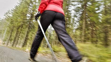 Sauvoilla lenkkiin saa hyvää lisäpotkua.