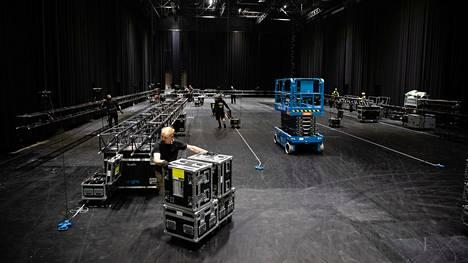 Vuokrattavia studiotiloja on yhteensä kolme. Suurin on kooltaan 1200 neliömetriä.