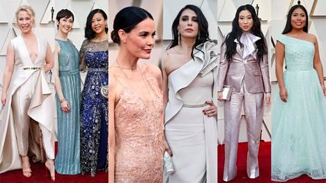 Gaalatyylejä Oscareista.