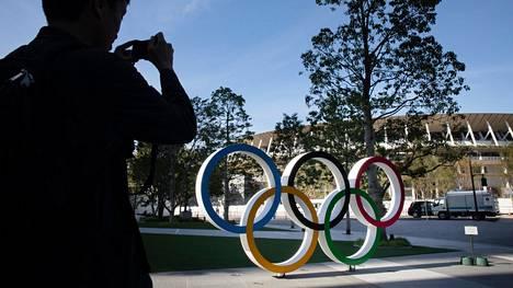 Tokion olympialaisten järjestäminen on ollut vastatuulessa. Arkistokuva Tokiosta vuodelta 2019.