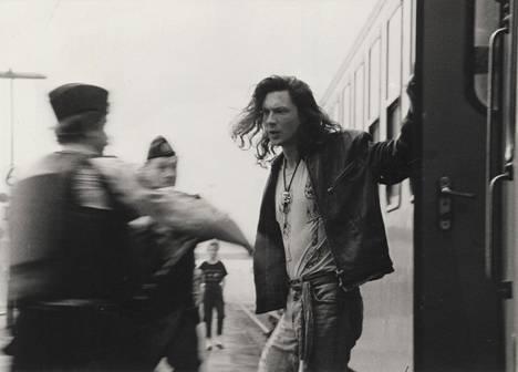 1991: Antti Reini esitti pääosan murhaajasta kertovassa elokuvassa Il Capitano.
