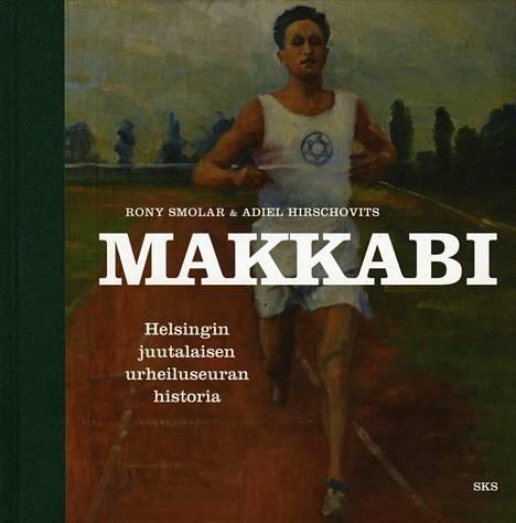 Makkabin historiateos valittiin Vuoden urheilukirjaksi 2016. Kansikuvassa juoksee Elias Katz.