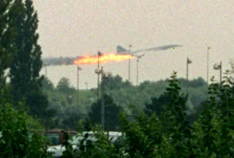 Vuonna 2000 tapahtui Concorden ensimmäinen ja viimeinen kuolemia aiheuttanut onnettomuus.