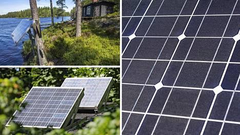 Aurinkosähkön tuottamineen omaan käyttöön on yleistynyt Suomessa. Tätä on viime vuosina edesauttanut aurinkopaneelien hintojen laskeminen.