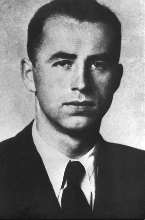 Entinen SS-upseeri Alois Brunner pakeni Syyriaan 1950-luvulla.