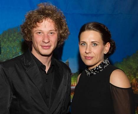Santtu-Matias Rouvali ja avovaimo Heini Lehto ovat nelivuotiaan Oliver-pojan vanhemmat.