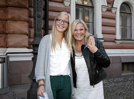 Raakel Lignell ja tytär Greta