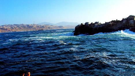 Pikkuruinen Isla de Lobos sijaitsee lyhyen venematkan päässä Fuerteventuran saarelta. Afrikan rannikolle on matkaa sata kilometriä.