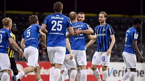 FC Inter kaatoi IFK Mariehamnin vakuuttavasti.