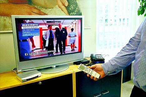 Neljä vuotta tarjonnassa olleella Maxinet-iptv-palvelulla on tuhatkunta asiakasta.
