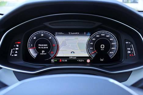Audin digitaalisen virtuaalimittariston toteutus on Suomessa syntyneen Rightwaren käsialaa.