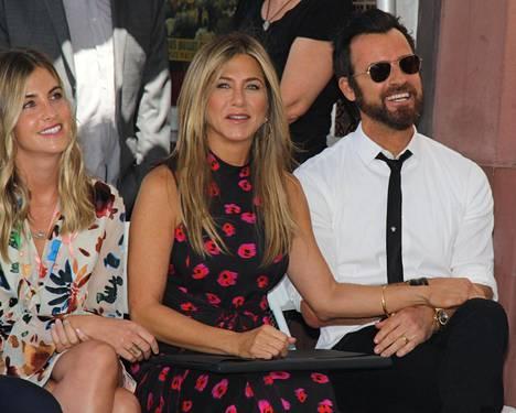 Jennifer Aniston erosi jo viime vuonna.
