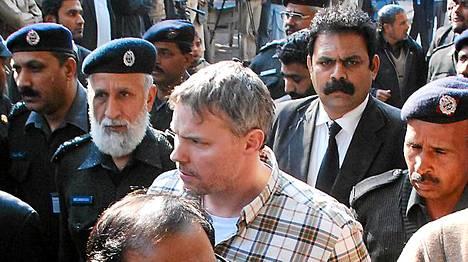 Amerikkalainen Raymond Davis ampui tammikuun lopulla Lahoressa kaksi pakistanilaista miestä.