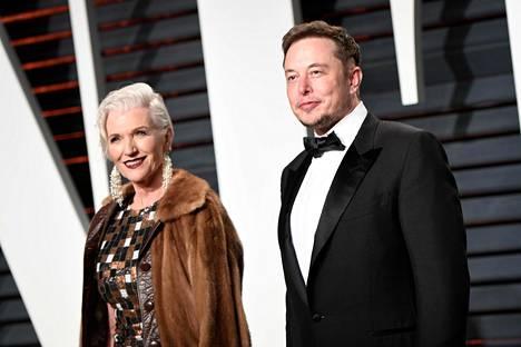 Maye ja Elon Musk.