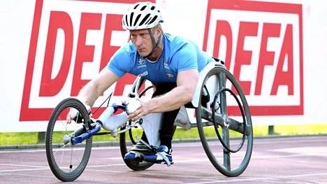Leo-Pekka Tähti jäi 400 metrillä finaalivauhdista 0,63 sekuntia Dohassa. Arkistokuva.