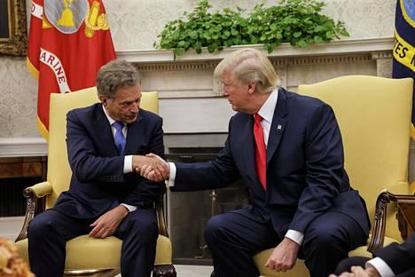 Niinistö tapasi Trumpin Valkoisessa talossa edellisen kerran vuonna 2017.