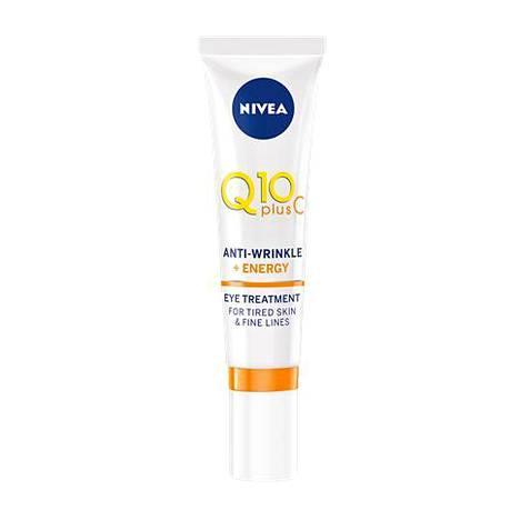 Edullinen silmänympärysvoide Nivea Q10 plus C Anti-Wrinkle + Energy Eye Treatment todettiin silmänympärystuotetestissämme toimivaksi perusvoiteeksi. 15,50 € / 15 ml, mm. tavarataloista.