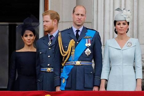 Catherine ja Meghan ovat solahtaneet osaksi kuninkaallista perhettä hyvin eri tavoin.