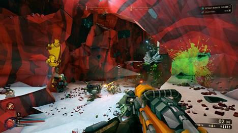 Suolakiteiden täyttämästä luolastosta löytyy paitsi mineraaleja, myös kääpiöitä syöviä avaruusmölliäisiä.