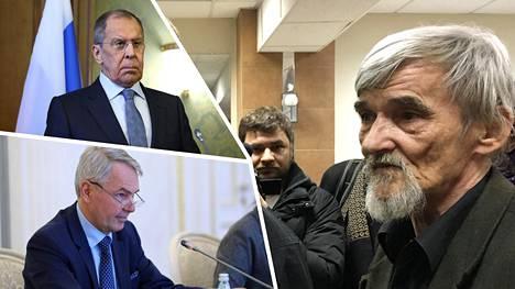 Juri Dmitrijevin (oik.) vankeustuomiosta tehty valitus ratkennee jo tiistaina. Pekka Haavisto otti Dmitrijevin kohtalon esille ulkoministeritapaamisessa Sergei Lavrovin kanssa.