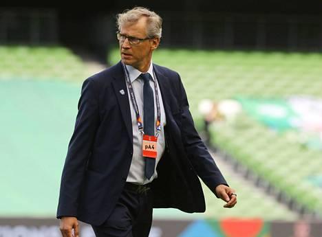 Päävalmentaja Markku Kanerva luotti syyskuussa vaihtoehtoiseen peliryhmitykseen.