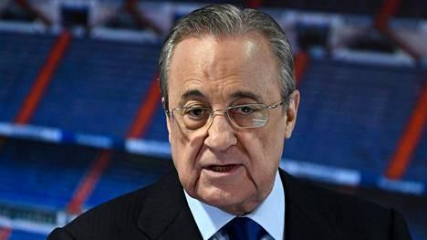 Florentino Perez haluaa myllätä Euroopan jalkapallokartan.