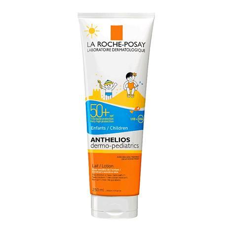 La Roche-Posay Anthelios -aurinkosuojaemulsio, 29,50 € / 250 ml.