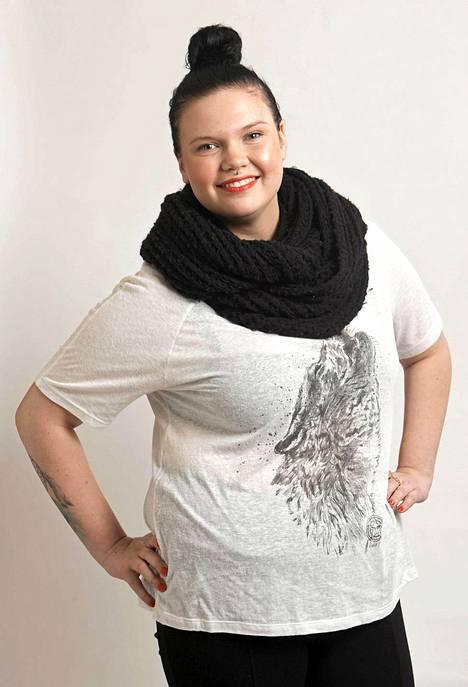 Eveliina Eve Hotti on 18-vuotias lukiolainen Helsingistä.