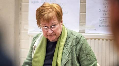 Arkistokuva presidentti Tarja Halosesta.