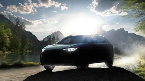 Subarun julkistamassa kuvassa yhdistyvät uuden mallinimen juuret.