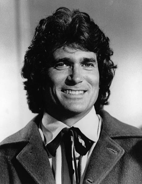 Michael Landon (1936-1991) tuli tunnetuksi Ingalsin perheen rehtinä isänä.
