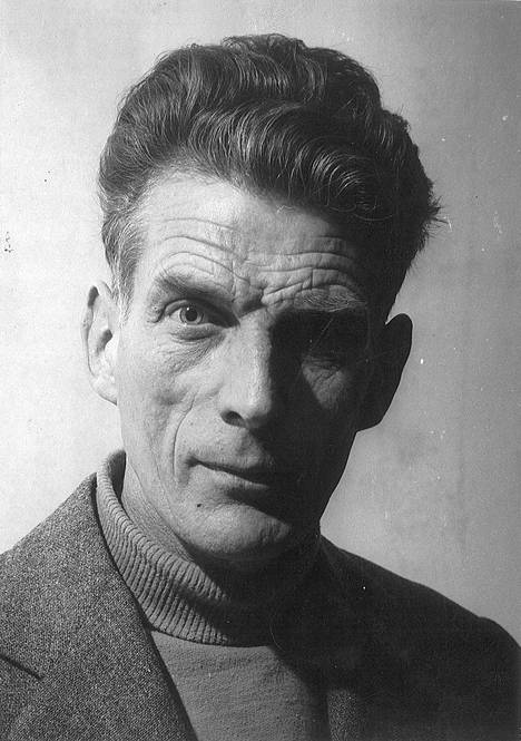 Kirjailija Samuel Beckett kuului Eeva ja Peter Lennonin ystäviin Pariisin-vuosina.