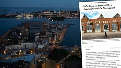 New York Times hehkuttaa Helsinkiä.
