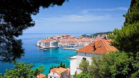Dubrovnikin maisemat lumoavat.