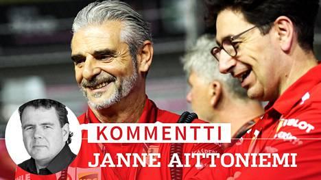 Kommentti: Ferrarin kaaos jatkuu – Kimi Räikkösen lähdöstä päättänyt ex-ylipäällikkö pudottelee päitä vielä haudan takaa