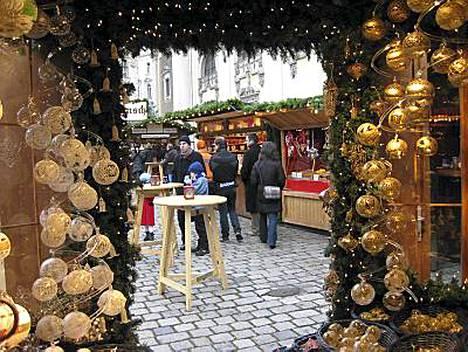 Wien on äänestetty viehättävimmäksi joulunaluskaupungiksi.