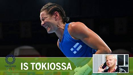Tiukkaa teki, mutta sieltä se kuitenkin tuli: voitto, joka varmisti vähintään olympiapronssin Mira Potkoselle Tokion olympianyrkkeilyissä.