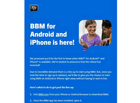 Blackberryn BBM-viestintäsovelluksen kova kysyntä on yksi harvoja positiivisia uutisia yhtiöstä.
