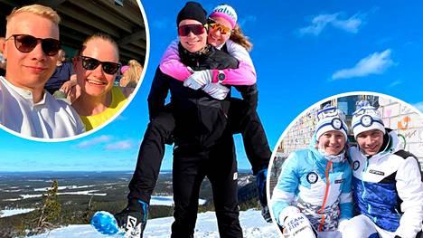 Johanna Matintalo ja Lauri Vuorinen alkoivat seurustella jo hyvin nuorina.