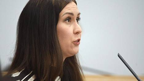 Tiina Elovaara liittyi puolueeseen vuonna 2007.