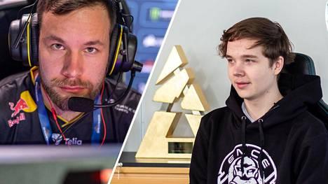 """Aleksi """"allu"""" Jalli ja Elias """"Jamppi"""" Olkkonen pelaavat viikonloppuna Flick-pariturnauksessa, jonka ISTV näyttää suorana."""