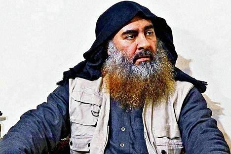 """Irakilaissyntyinen Abu Bakr al-Bagdadi johti Isis-äärijärjestöä ja sen """"kalifaattia""""."""