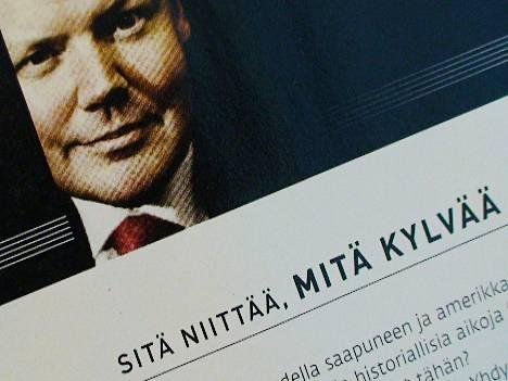 Viime viikolla Lauri Rosendahl kehui Kaupthingin asiakaslehdessä pankin vakavaraisuutta väkivahvaksi.