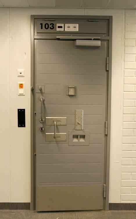 Sellin ovi Turun vankilassa.