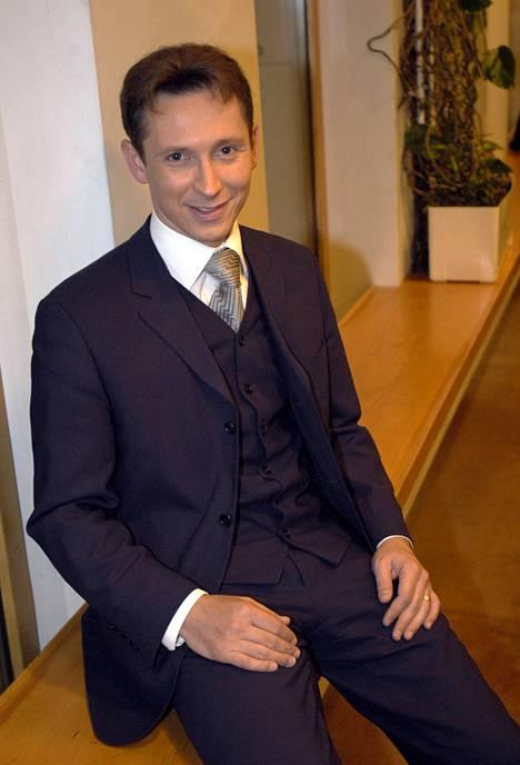 Helmut Lotti esiintyi Finlandiatalolla järjestetyssä Unicef-gaalassa vuonna 2003.