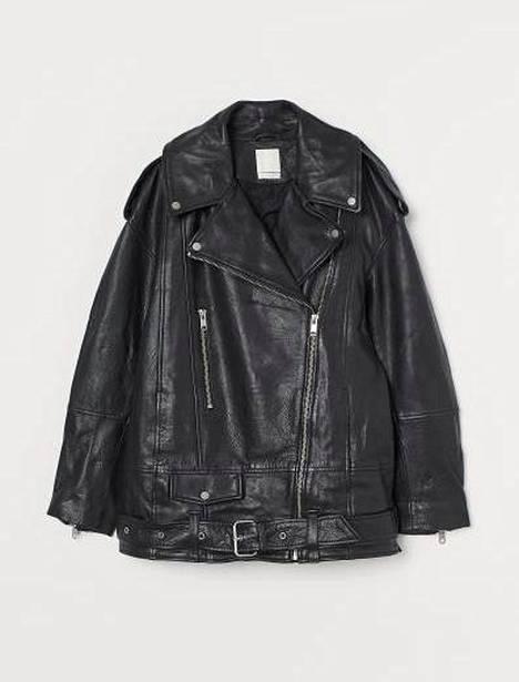 Oversize-biker-nahkatakki 179 €, H&M.