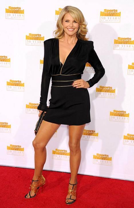 Christy Brinkleyä ei uskoisi yli 60-vuotiaaksi.
