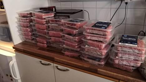 Anne Viitasen perheessä lihat tulevat päivittäiseen käyttöön.