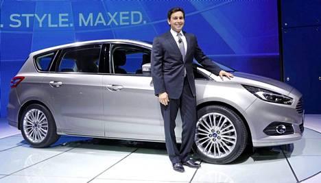 S-MAXin uusi sukupolvi: perusrakenteessa ja tekniikassa on niin ikään huomattavan runsaasti uutta Mondeota.